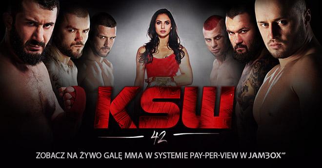 KSW 42: Zamów dostęp