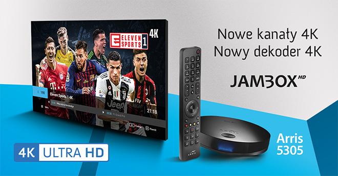 Poznaj jakość 4K Ultra HD w JAMBOX