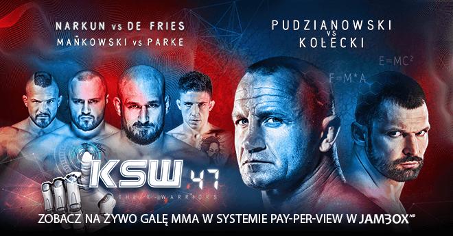 Gala KSW 47: The X-Warriors