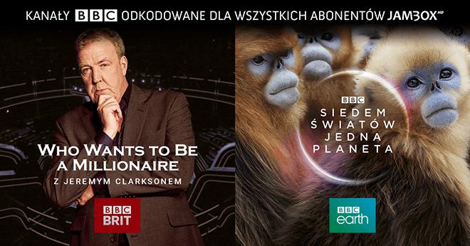 Otwórz sobie BBC Brit i BBC Earth