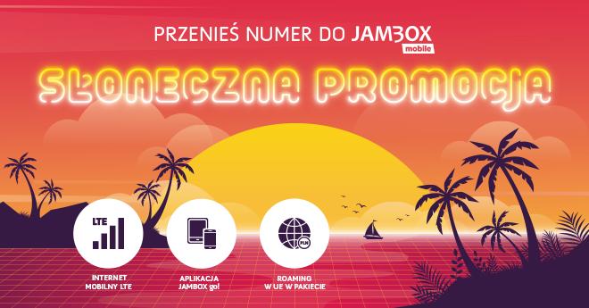 Słoneczna promocja w JAMBOX mobile