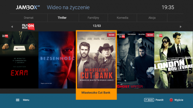 FilmBox on Demand