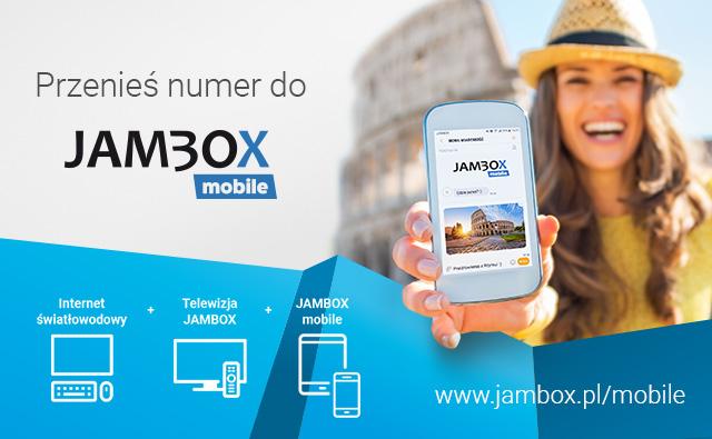 Przenieś numer do JAMBOX mobile