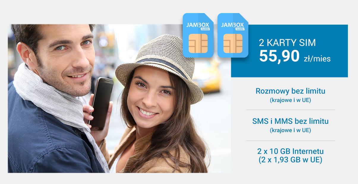 Promocja 2 karty SIM