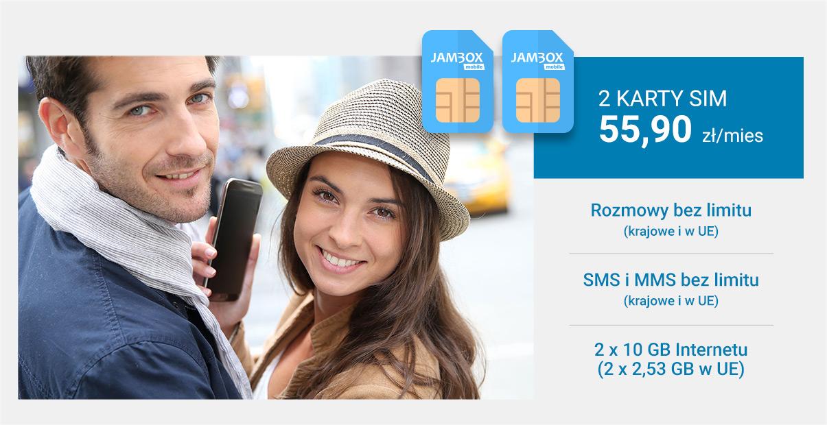 Jambox Mobile oferta rodzinna
