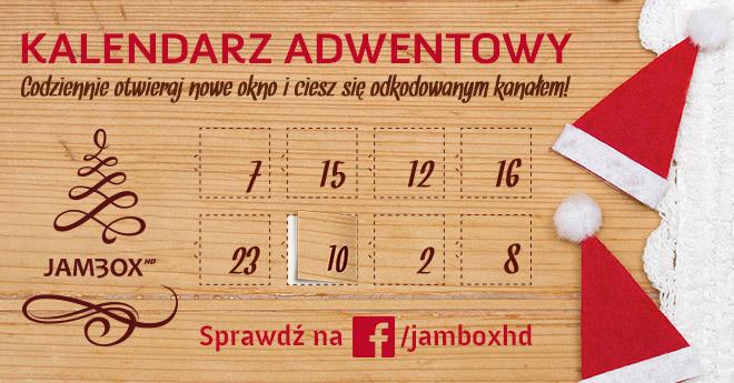 Kalendarz adwentowy Jambox