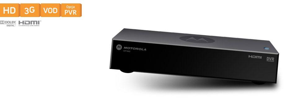 Motorola 1853 HD z opcją dysku