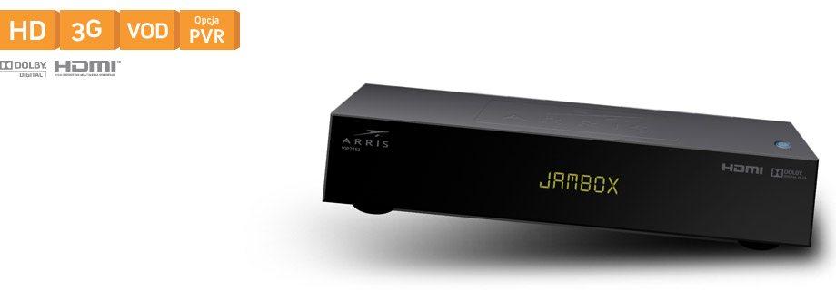 Arris 2853 HD z opcją dysku